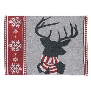 IH Casa Decor Multicolour Reindeer Placemat - Set of 12