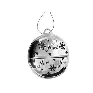 IH Casa Decor Silver Bell Ornament Set - 6-Pack