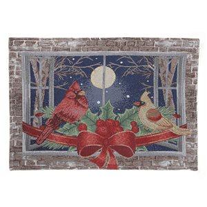 IH Casa Decor Multicolour Cardinal Couple Placemat - Set of 12