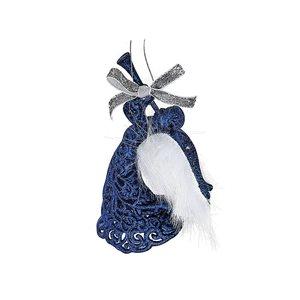 IH Casa Decor Blue Angel Ornament Set - 12-Pack