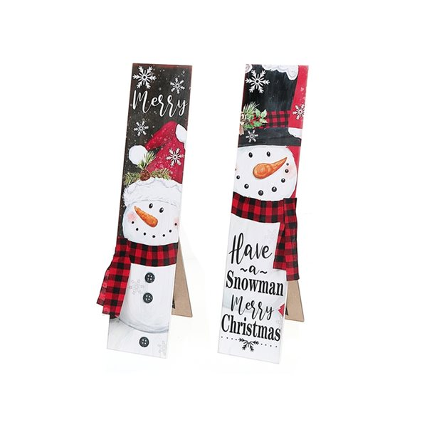 IH Casa Decor Snowman 23-in H Christmas Decoration - Set of 2