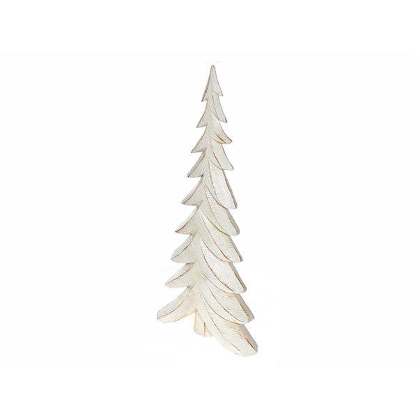 IH Casa Decor White Tree 15.3-in H Christmas Decoration