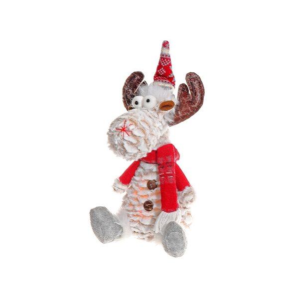 IH Casa Decor LED 13.8-in H Reindeer Christmas Decoration