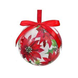 IH Casa Decor Multicolour Poinsettia Ornament Set - 12-Pack