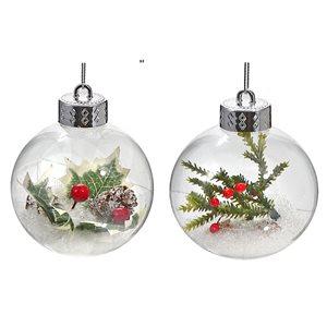 IH Casa Decor Christmas Ornament Set - 12-Pack