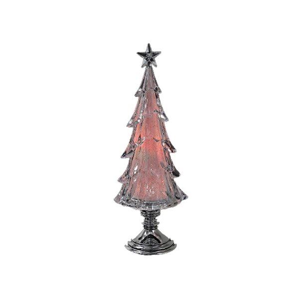 IH Casa Decor LED Acrylic 15-in H Tree Christmas Decoration