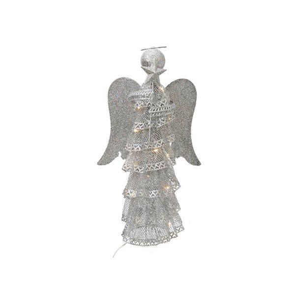 IH Casa Decor LED Angel Silver Christmas Decoration