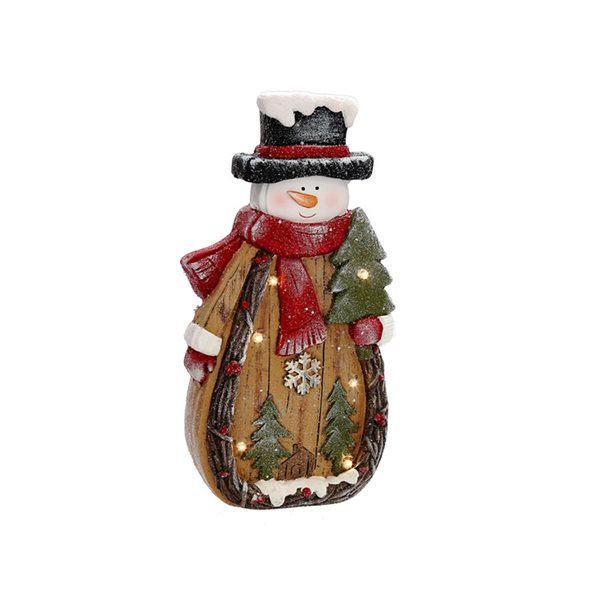 IH Casa Decor LED Snowman Christmas Decoration