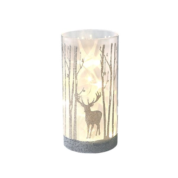 IH Casa Decor LED Reindeer White Christmas Decoration