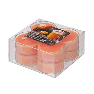 IH Casa Decor Pumpkin Spice Scented Tealights - Set of 8