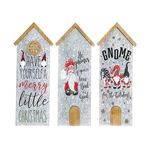 Décoration murale de Noël de 19,7 po par IH Casa Decor, ens. de 3