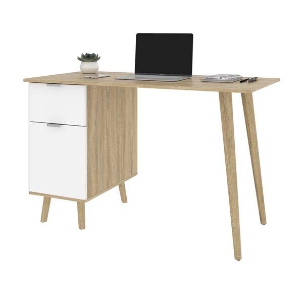 Bestar Procyon 47.2-in Brown Modern/Contemporary Writing Desk