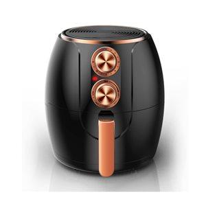 Friteuse électrique à air Brentwood de 3,2 L et 1200 W, cuivre et noir