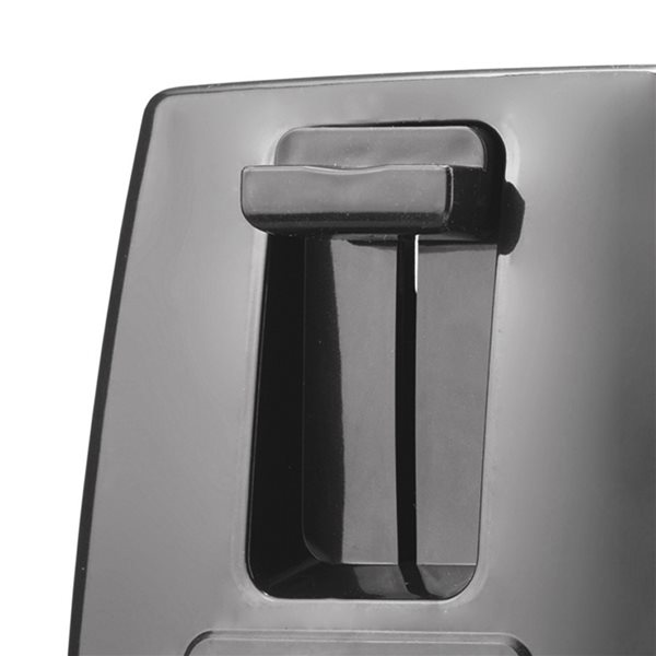 Brentwood2-Slice Silver650W Toaster with Extra Wide Slots