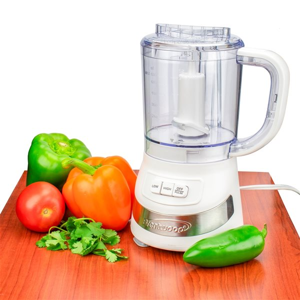 Brentwood3-Cup200W White 1-Blade Food Processor