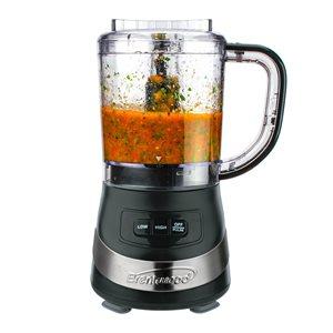Robot culinaire à une lame Brentwood de 200 W, capacité de 3 tasses, noir