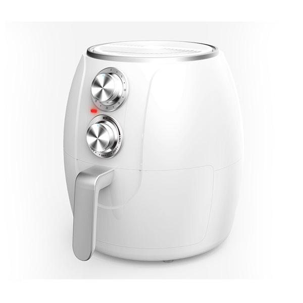 Friteuse électrique à air Brentwood de 3,2 L et 1200 W, blanc
