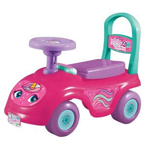 Rugged Racers Unicorn Kids Ride-On Car