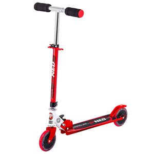 Rugged Racers 2-Wheel Red Kids Scooter