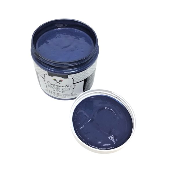 Colorantic Blue Moon Dark Navy Blue Chalk-Based Paint (Gallon Size)