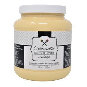 Colorantic Orangesicle Light Orange Chalk-Based Paint (Half-Gallon)