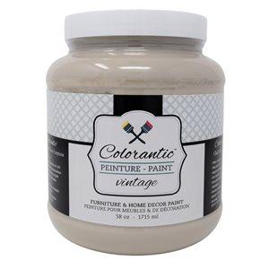 Colorantic Cappuccino Coffee Chalk-Based Paint (Half-Gallon)