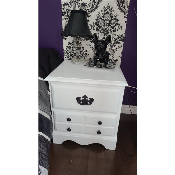 Peinture à la craie Boule de coton par Colorantic, blanc pur, 1gal