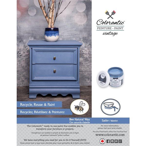 Colorantic Sailor Blue/Grey Chalk-Based Paint (Trial Size)