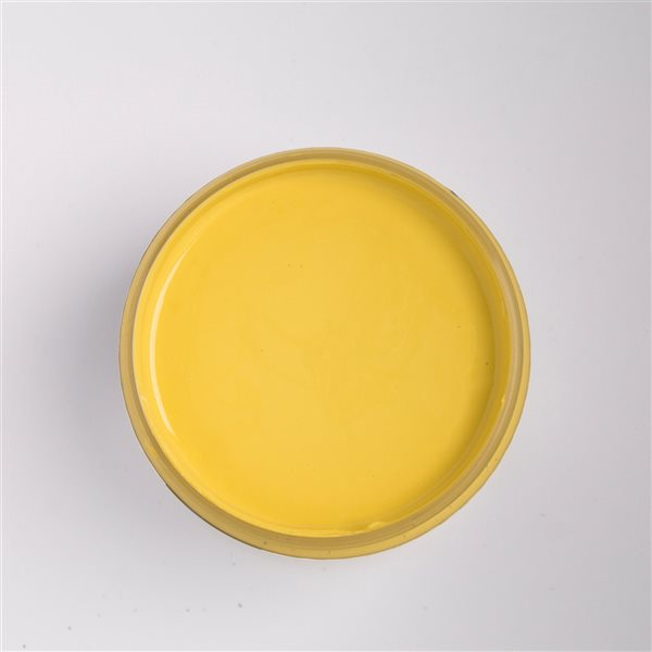 Colorantic Sunflower Dark Yellow Chalk-Based Paint (Quart Size)
