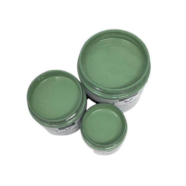 Peinture à la craie Nature par Colorantic, vert feuille, échantillon