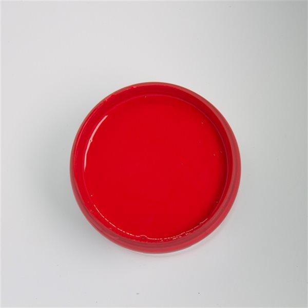 Peinture à la craie Verger de pommes par Colorantic, rouge pompier, 1gal