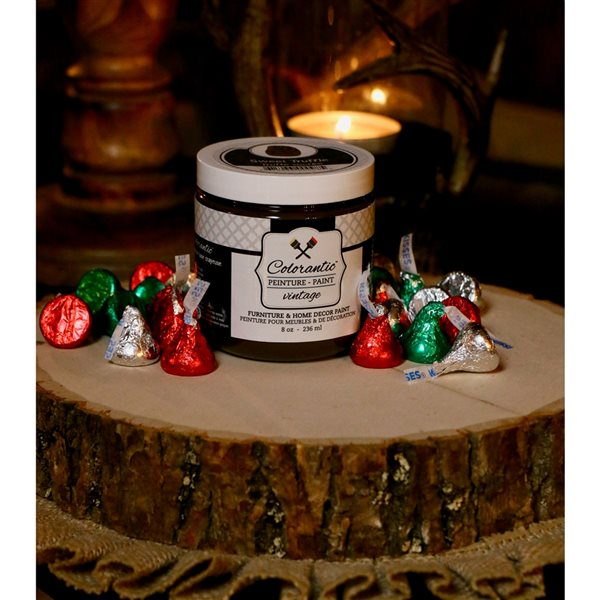 Colorantic Sweet Truffle Brown Chalk-Based Paint (Trial Size)