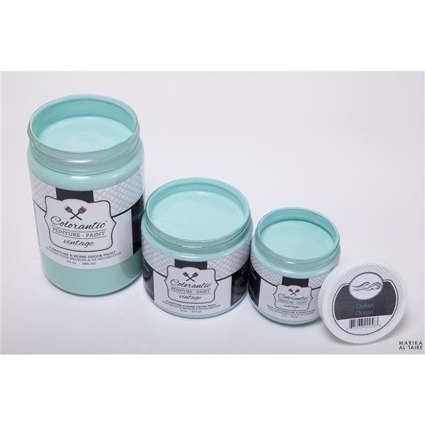 Colorantic Ocean Light Turquoise Chalk-Based Paint (Half-Gallon)