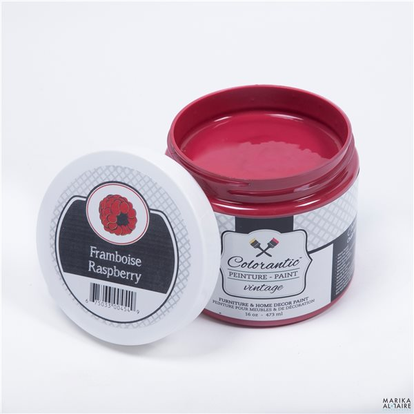 Colorantic Raspberry Red/Pink Chalk-Based Paint (Trial Size)