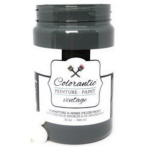 Colorantic Acai Berry Charcoal Black Chalk-Based Paint (Quart Size)