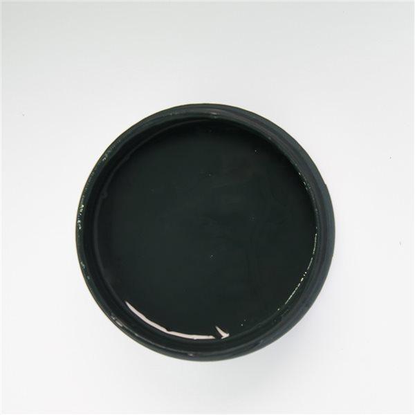 Peinture à la craie Baie d'açaï par Colorantic, noir anthracite, échantillon