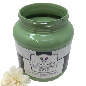 Colorantic Nature Green Leaf Chalk-Based Paint (Half-Gallon)
