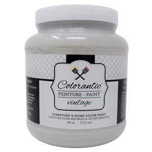 Colorantic Roasted Marshmallow Light Grey Chalk-Based Paint (Half-Gallon)