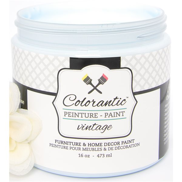 Colorantic Nautical Baby Blue Chalk-Based Paint (Trial Size)