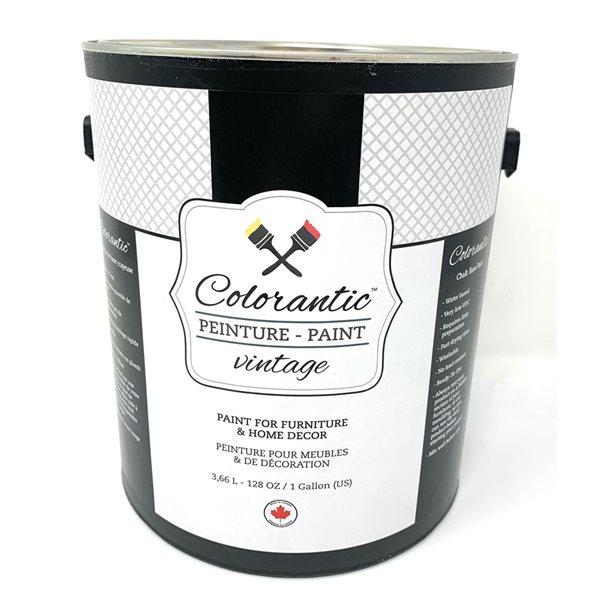Peinture à la craie Crème vintage par Colorantic, crème au beurre, 1gal