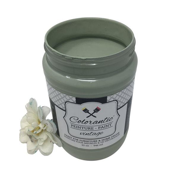 Colorantic Sage Green/Grey Chalk-Based Paint (Quart Size)