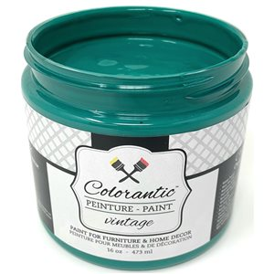 Colorantic Emerald Deep Green Chalk-Based Paint (Trial Size)