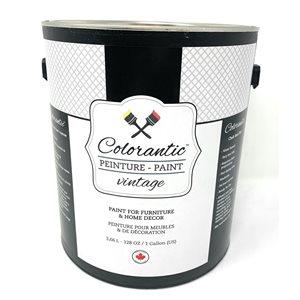 Colorantic Roasted Marshmallow Light Grey Chalk-Based Paint (Gallon Size)