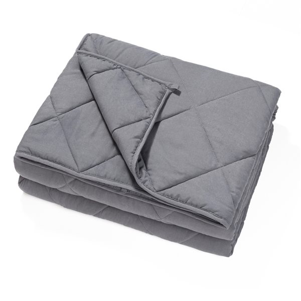 Marina Decoration 60-in x 80-in 20-lb Weighted Blanket with Premium Glass Beads
