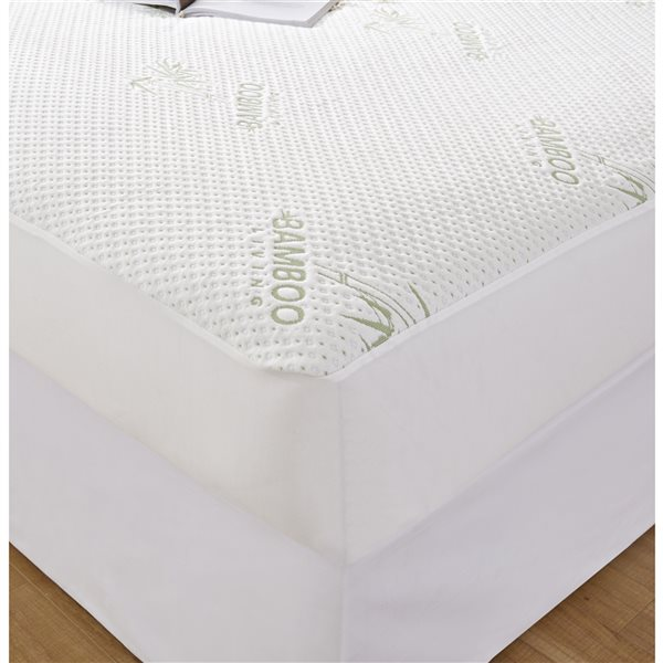 Marina Decoration16-in D Waterproof Rayon from Bamboo Queen Hypoallergenic Mattress Cover