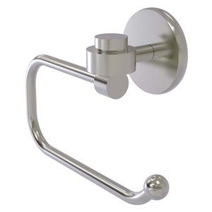 Allied Brass Satellite Orbit One Satin Nickel Wall Mount Single Post Toilet Paper Holder