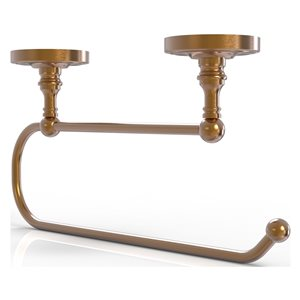 Allied Brass 15-in Metal Wall Mounted Brushed Bronze Paper Towel Holder