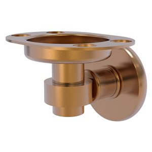 Allied Brass Continental Brushed Bronze Brass Tumbler and Toothbrush Holder