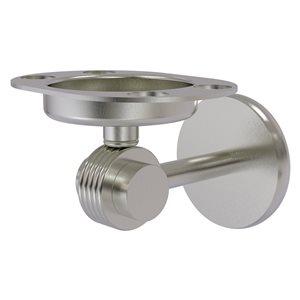 Allied Brass Satin Nickel Brass Satellite Orbit Two Tumbler and Toothbrush Holder