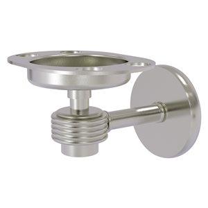 Allied Brass Satellite Orbit One Brass Satin Nickel Tumbler and Toothbrush Holder